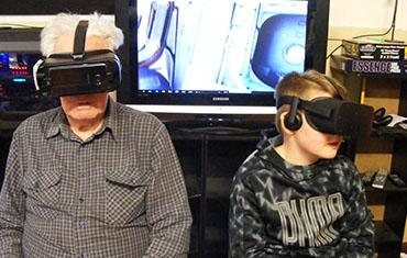 Te Awamutu Space Centre: Virtual Reality Display